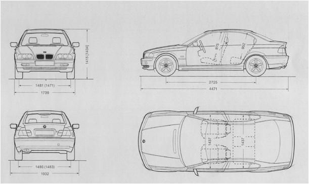 zoek auto met  bmw 1 serie afmetingen